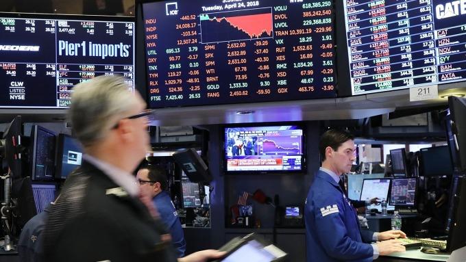 帶領道瓊工業指數上升的幾隻股份