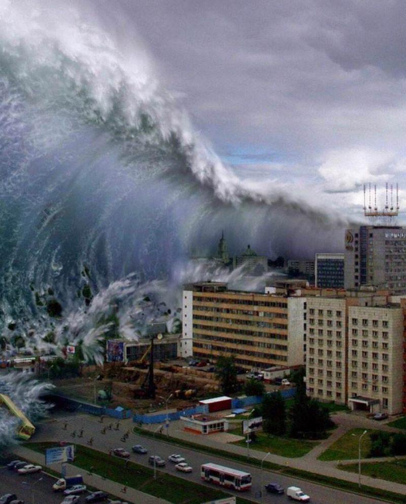 庚子股災,庚子海嘯