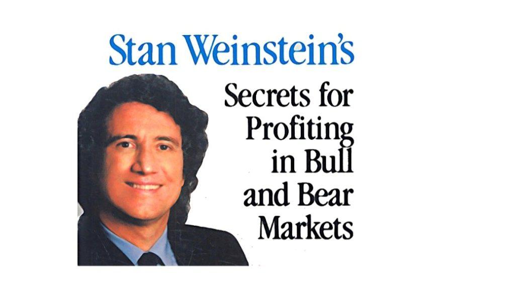 史丹-溫斯坦30周均線將股票分成四個階段