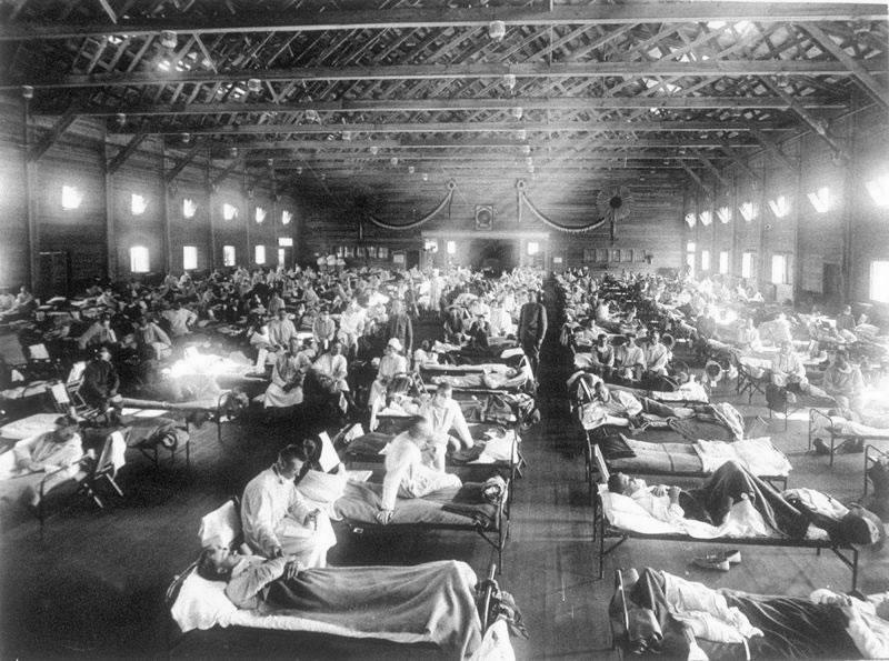 1918年流感大流行- 维基百科,自由的百科全书