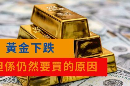 量寬下黃金仍下跌,但係仍然要買的原因? (會員頻道試閱)|投資|港股|基建|美債|債息- YouTube